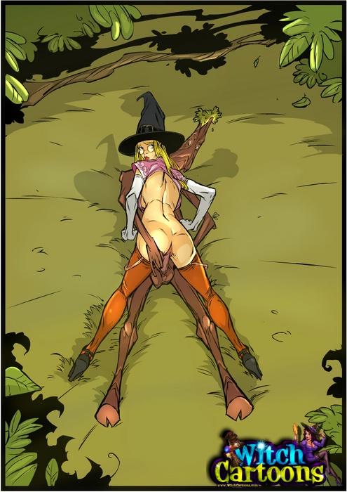ведьма картинки секс