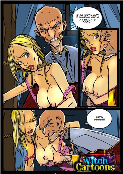 Порно witch комиксы